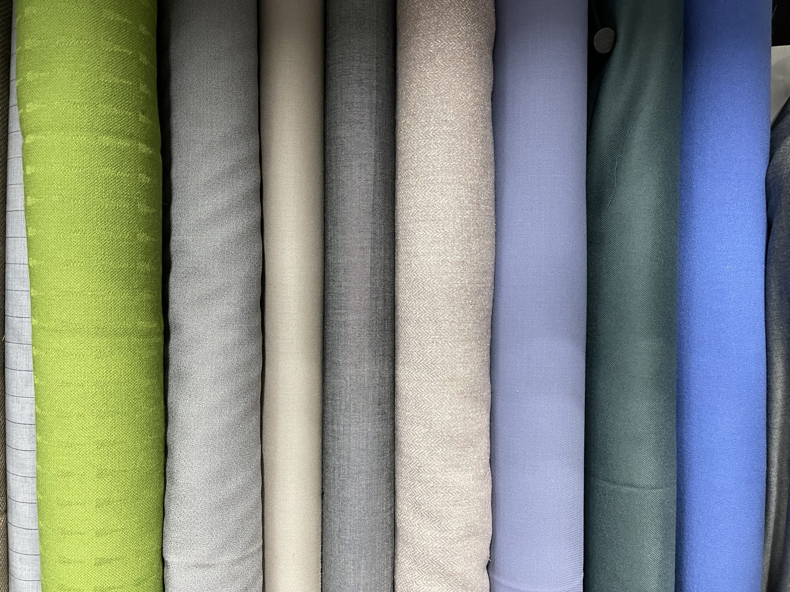 Loom Fabrics Mid weight wools fashion colours