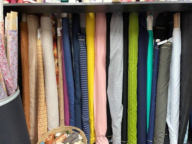 Loom Fabrics cotton prints and stretch drills
