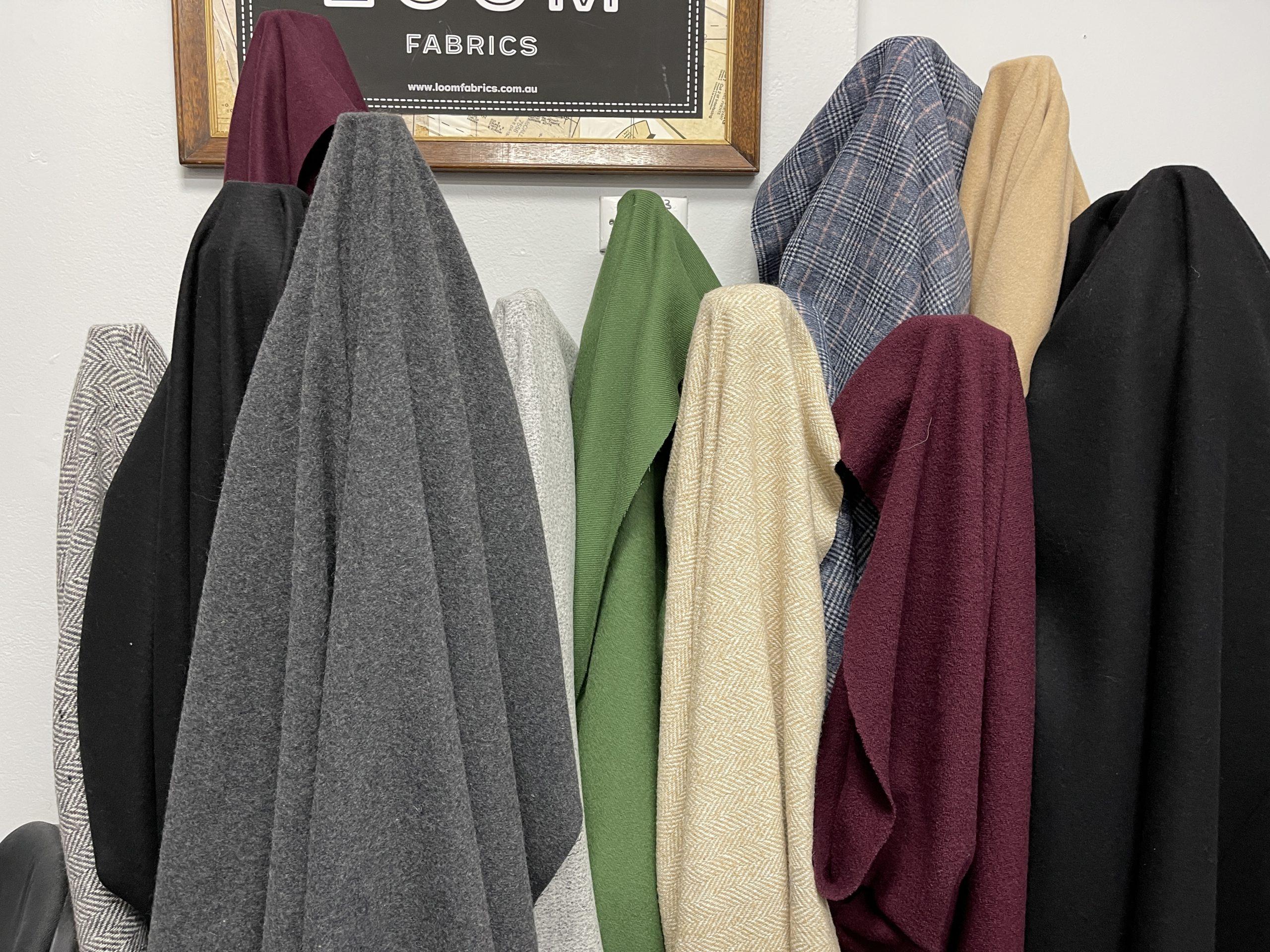 Loom Fabrics heavier weight wools